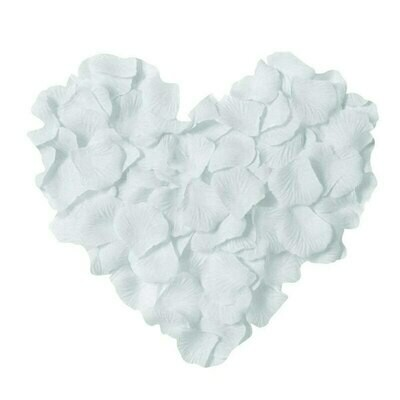 Лепестки роз. ( искусств.) белые