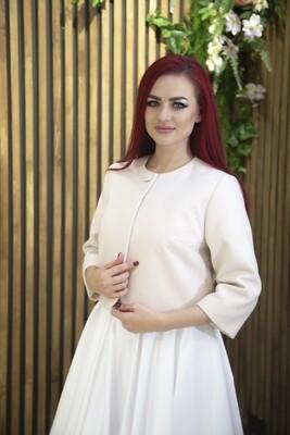 Свадебное пальто (капучино)