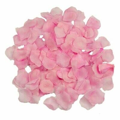 Лепестки (искусств. розовые )