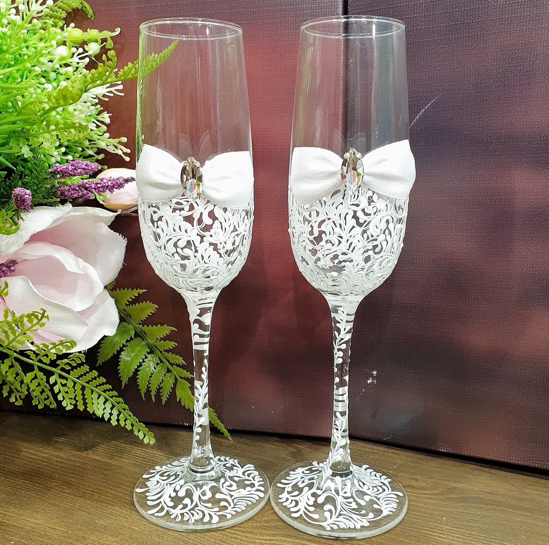Свадебные бокалы