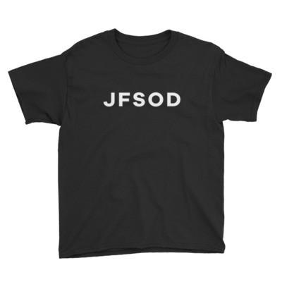 Kids JFSOD T-Shirt (White Letters)