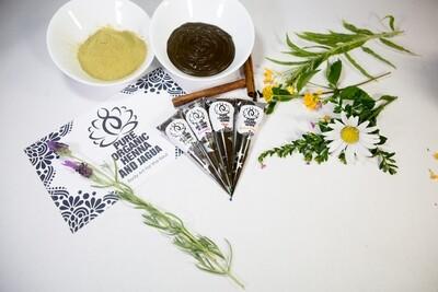 Pure Organic Henna Cones x2