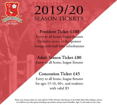 President Season Ticket