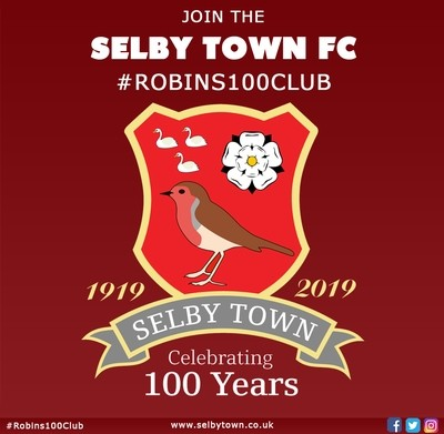 Join The Robins 100 Club