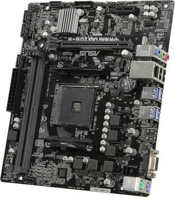 Материнская плата ASUS PRIME A320M-R-SI <Socket-AM4, AMD A320, 2xDDR4, PCI-E+ PCI-E 16x, 4хSATA+ m.2, HDMI+ VGA, COM, 2xPS/2, 6xUSB, 3xAudio (8Ch), GLan> mATX, WhiteBox