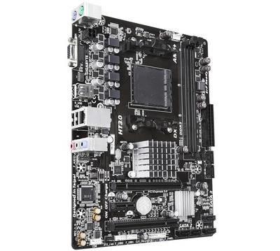 Материнская плата GIGABYTE GA-78LMT-S2 R2 <Socket-AM3+, AMD 760G, 2xDDR3, 3xPCI+ PCI-E+ PCI-E 16x, 6xSATA (Raid 0/1/10), VGA, 2xPS/2, 4xUSB, 3xAudio (8Ch), GLan> mATX, RTL