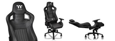 Игровое кресло Tt Premium X Fit XF 100          [GC-XFS-BBMFDL-01] black
