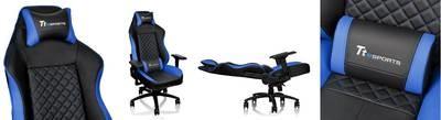 Игровое кресло Tt eSPORTS   GT Comfort GTC 500         [GC-GTC-BLLFDL-01] black/blue