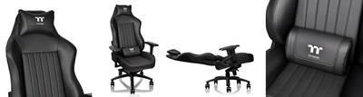 Игровое кресло Tt Premium X Comfort XC 500 [GC-XCS-BBLFDL-01] black