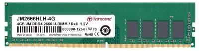 Модуль памяти Transcend 4GB U-DIMM DDR4, 2666 МГц, 1Rx8, 1.2V
