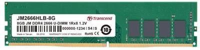 Модуль памяти Transcend 8GB U-DIMM DDR4, 2666 МГц, 1Rx8, 1.2V