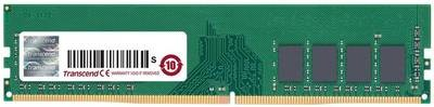 Модуль памяти Transcend 4GB JM DDR4 2400 U-DIMM 1Rx8 512Mx8 CL17 1.2V