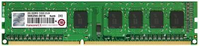 Модуль памяти Transcend 2GB U-DIMM DDR3, 1333МГц, 1Rx8, 1.5V
