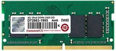 Модуль памяти Transcend 4GB JM DDR4 2400 SO-DIMM 1Rx8 512Mx8 CL17 1.2V