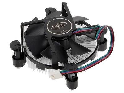 Кулер CPU DEEPCOOL CK-11509 PWM (1150/1151/1155, 65W, 18-31dB, 2200 rpm, 92мм, 4pin) RTL