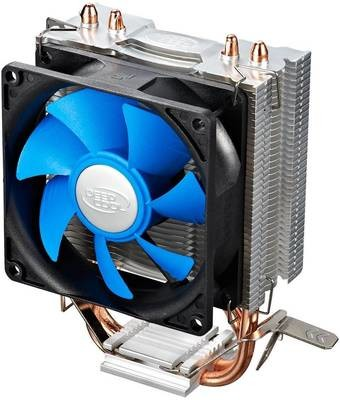 Кулер CPU DEEPCOOL ICE EDGE MINI FS V2.0 (универсальный, 95W, 25dB, 2200  rpm, 92мм, 3pin, медь+ алюминий) RTL