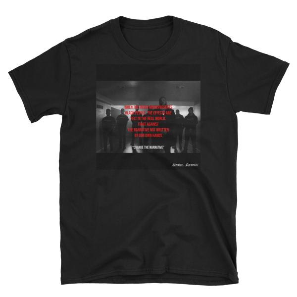 """Change The Narrative"" Graphic T-Shirt"