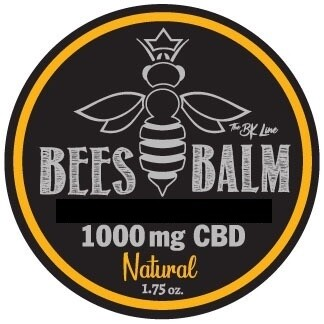 1000mg Bees Balm 4 Flavors