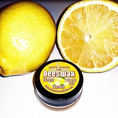 900 mg CBD Dab Wax Lemon Flavor