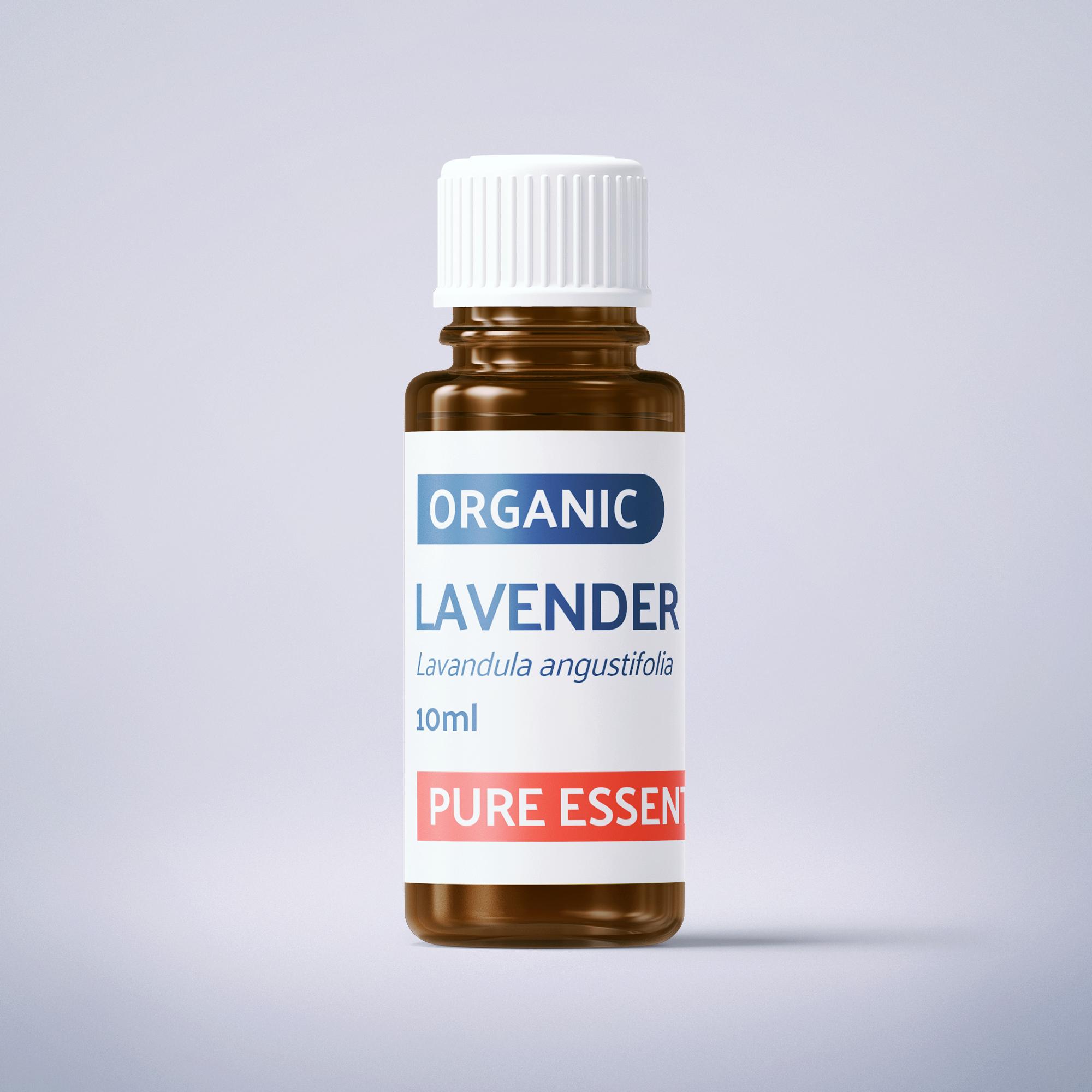 Organic Fine Lavender - 10ml - 100% Pure Essential Oil SKU003