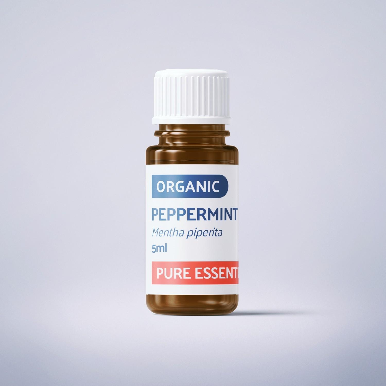 Organic Peppermint - 5ml - 100% Pure Essential Oil