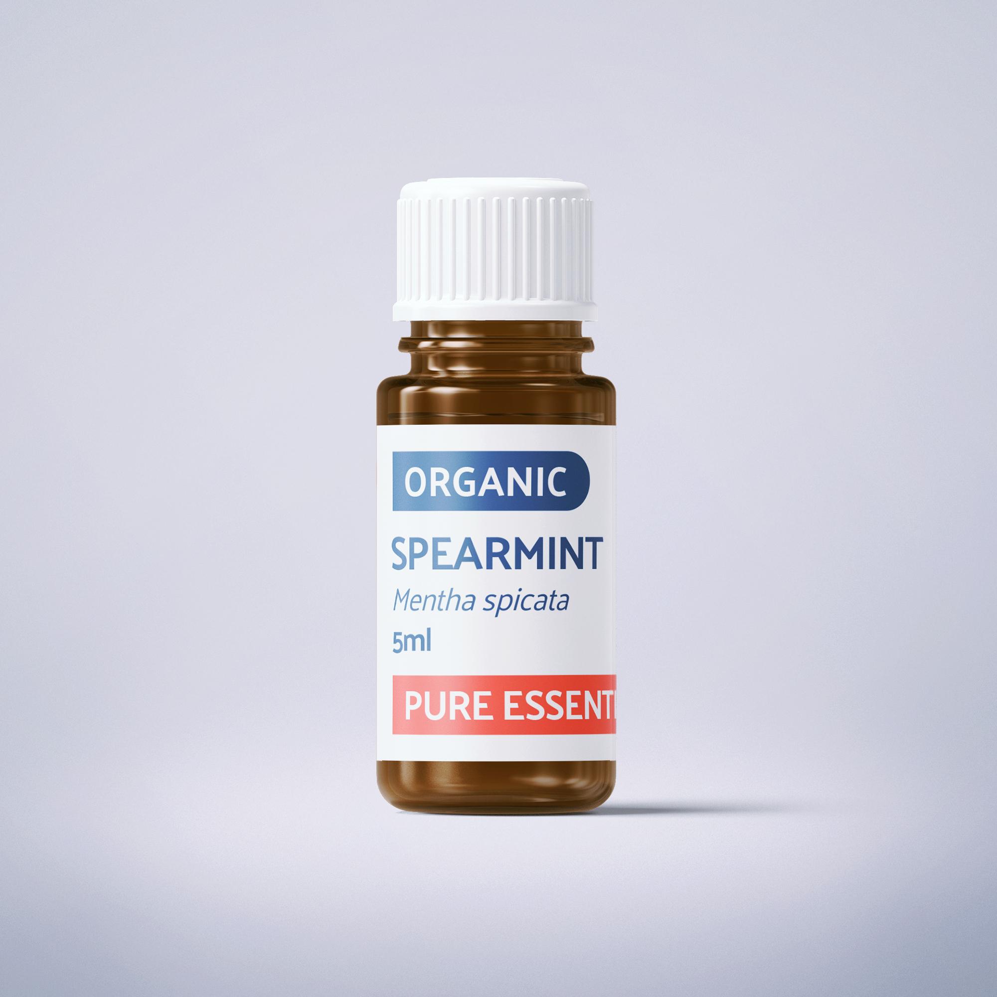 Organic Spearmint - 5ml - 100% Pure Essential Oil SKU006