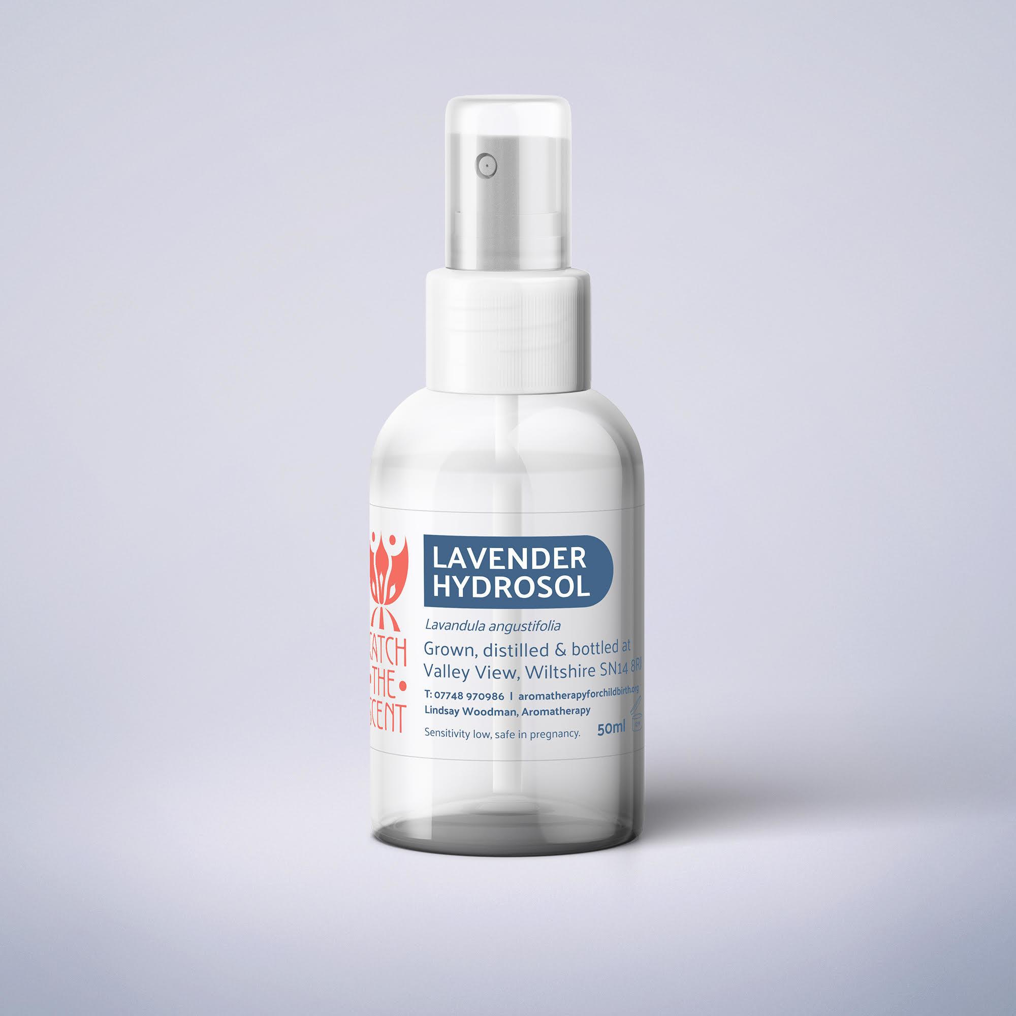 Lavender Distilled Hydrolat Spritz - 100ml SKU007