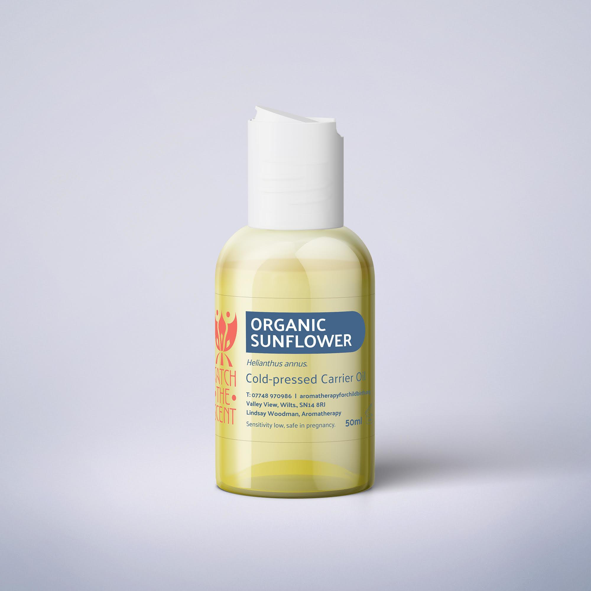 Organic Cold Pressed Sunflower Oil - 100ml SKU008
