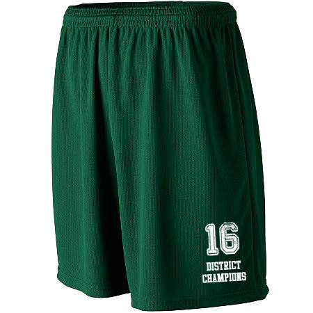 WICKING MESH ATHLETIC SHORTS