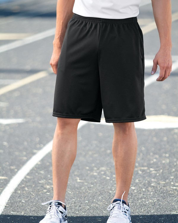LONG LENGTH WICKING SHORTS WITH POCKETS