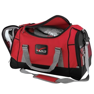 DELUXE TRAVEL DUFFEL BAG WITH SHOE POUCH