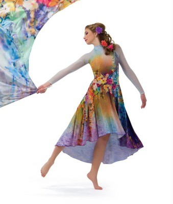 FLORA DIGITAL DRESS
