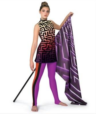 LABYRINTH TUNIC DIGITAL DRESS