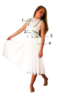 LYRICS GUARD DRESS
