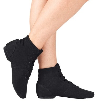 BROADWAY OVER-THE-ANKLE JAZZ BOOTS