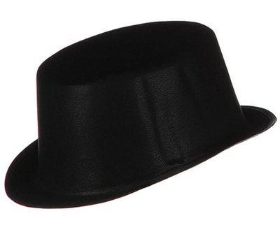 FLOCKED TOP HAT