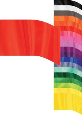 F-1 POLY CHINA SILK ARCHED FLAGS