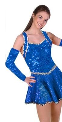 BLUE WAVE DRESS