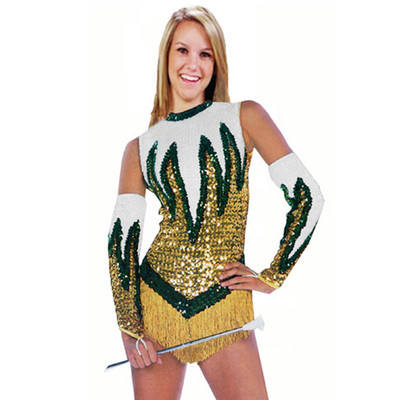 FIRE AND ICE SEQUIN BODYSUIT