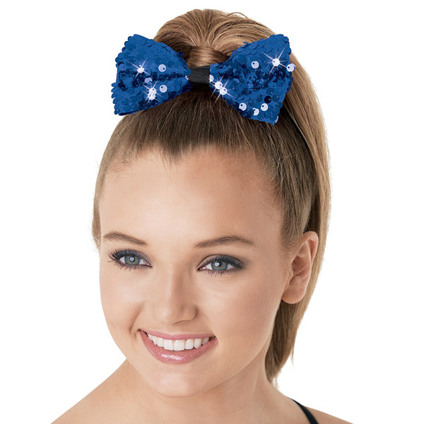 ULTRA SPARKLE SEQUIN HAIR BOW