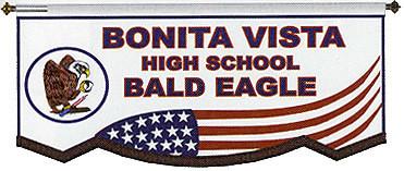 CUSTOM BANNER - BONITA VISTA HS