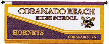 CUSTOM BANNER - CORANADO BEACH HS