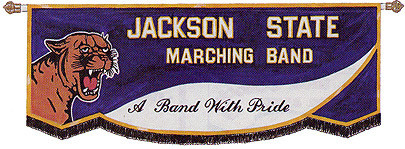 CUSTOM BANNER - JACKSON STATE MARCHING BAND