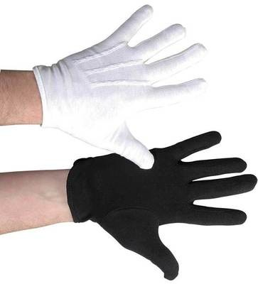 COTTON MARCHING BAND GLOVES