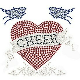 CHEER HEART RHINESTONE