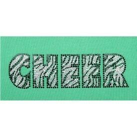 ZEBRA CHEER RHINESTONE
