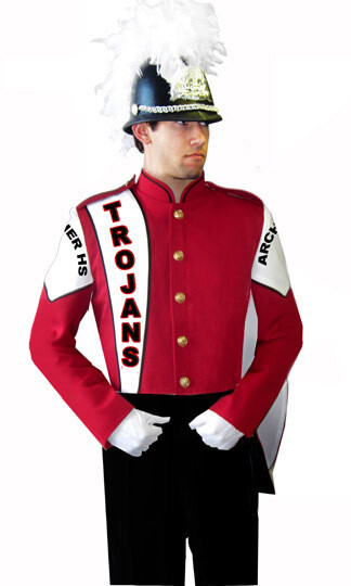 MARCHING BAND COAT TROJAN