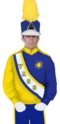 MARCHING BAND BLOUSE BL2017Y