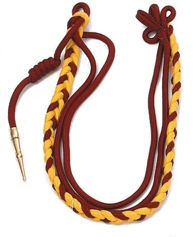 TWO COLOR MILITARY CITATION CORDS