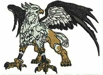 GRIFFIN EMBROIDERY EMB1575